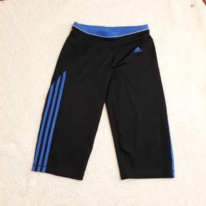 Adidas climalite capri yoga pants. Small LNC